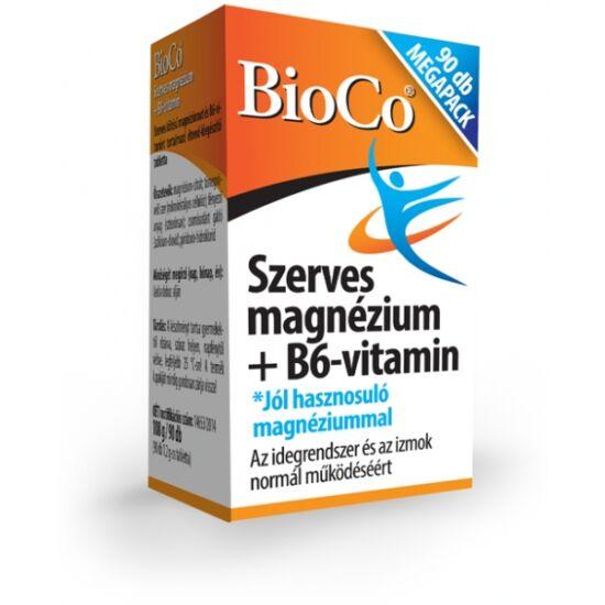 Szerves magnézium+B6 Megapack -BioCo-