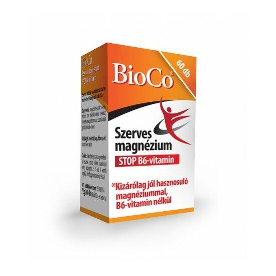 Szerves Magnézium  STOP B6  60X -BioCo-