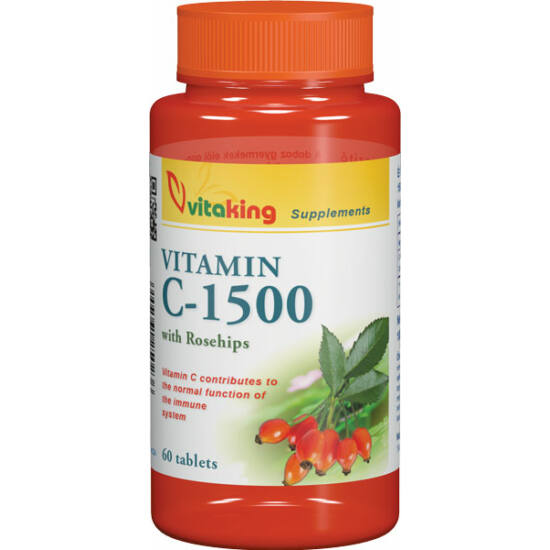C vitamin 1500 mg. -Vitaking-