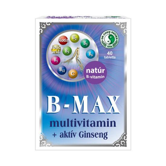 B-MAX multivitamin tabletta-Chen patika-