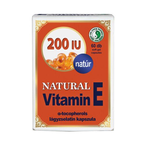 Natúr E vitamin kapszula-Chen patika-