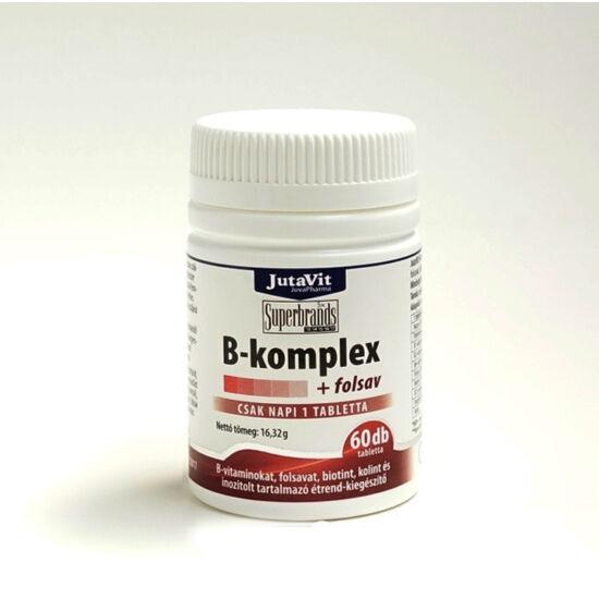 B-Komplex + Folsav 60x -Jutavit-