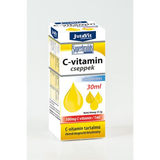 C vitamin csepp 30 ml.-Jutavit-